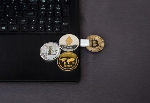 schrumpfenden Bereich unterhalb des Widerstands bei Bitcoin